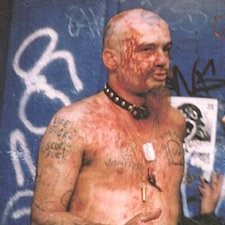 Gg Allin Poop On Stage