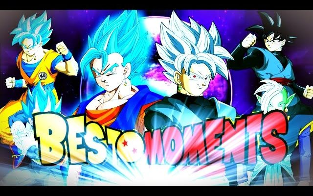 TOP 10 DRAGON BALL SUPER MOMENTS Episode 1